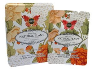 Nature Plant Rose Oil Whitening Moisturizing Silk Mask pictures & photos