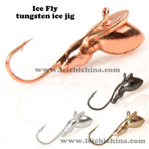 Wholesale Winter Ice Fishing Tungsten Jig pictures & photos