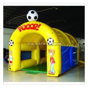 Hot Sale Style Mini Size Indoor/Outdoor Inflatable Penalty Shooting Games