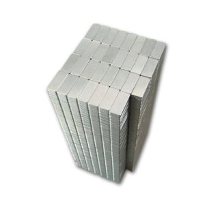 Small Bar Block Sintered Neodymium Permanent Magnet pictures & photos