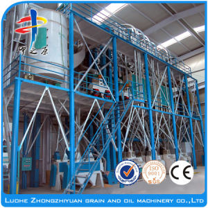 Complete Maiz Flour Mill Machinery pictures & photos