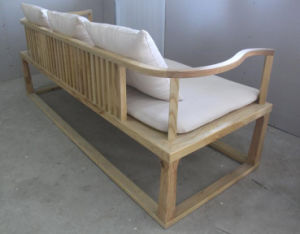 Solid Wooden Livingroom Sofa (M-X2158) pictures & photos