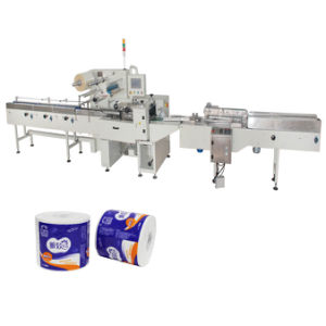Double Toilet Paper Roll Packing Machine pictures & photos