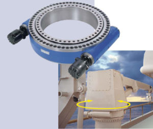 9 Inch Slewing Drive with Electrical Motor pictures & photos