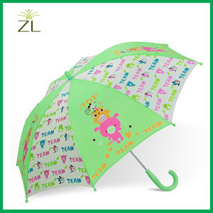 Safety Open Umbrella Portable Kids Umbrella Carton Umbrella pictures & photos