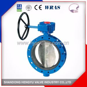 U Type Butterfly Valve with Single Shaft pictures & photos