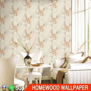 Home Decoration Deep Embossed Wall Paper with Cheap Price Py301-1 pictures & photos