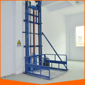 Hydraulic Vertical Freight Elevator with Ce pictures & photos