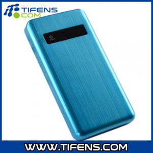 Metal Power Bank with LED Lights Blue 20000mAh