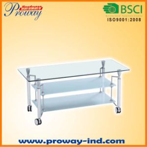 Glass TV Stand for 32 to 50 Inch pictures & photos