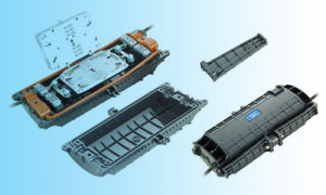 Jw001 Optical Fiber Splice Closure Fiber Optic Splice Enclosure Horizontal Type pictures & photos