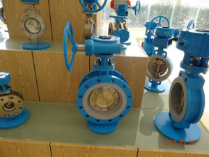 Flanged Butterfly Valve with Gear Box pictures & photos