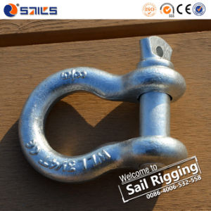 Hot Dip Galvanized US Type Steel Bow Shackle pictures & photos