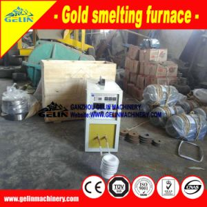 High Frequency Induction Gold Smelting Equipment (GL) pictures & photos