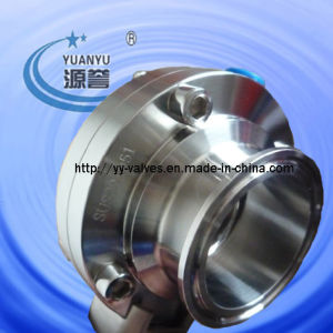 Hygienic Triclamp Butterfly Valve Stainless Steel pictures & photos