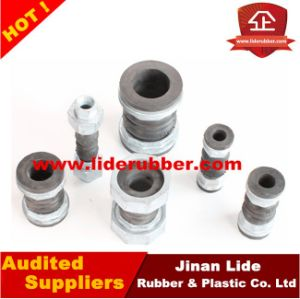 Double Ball Rubber Expansion Joints Threaded Ends