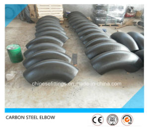 90 Deg Lr Pipe Fittings ASTM A234wpb Steel Elbow pictures & photos