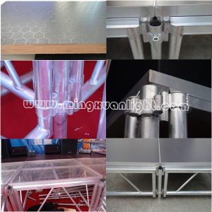 Fashionable Amoblie Luminum Glass Layer Stage pictures & photos