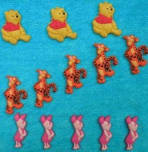 Hot Sale Kinds of Cartoon Figure PVC Badge pictures & photos