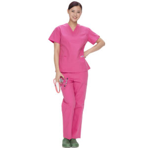 OEM Service Supply Type and Hospital Staff Scrubs Uniforms Type Printed Medical Scrubs pictures & photos