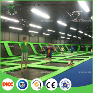 top sale inflatable trampoline park for adults with foam pit