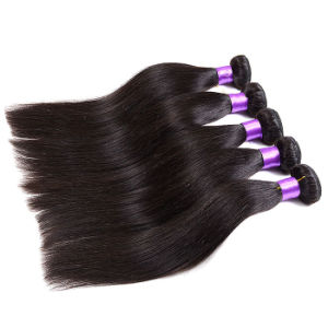Grade 7A Unprocessed Peruvian Straight Virgin Hair 4 Bundles Deals Puruvian Hair Bundles VIP Beauty Hair Wet and Wavy Human Hair pictures & photos