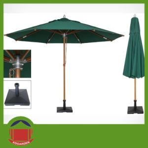 Square Shape Total Aluminium3m Rome Umbrella pictures & photos