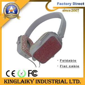 Hot Selling 3.5mm Foldable Headphone for OEM Branding (KHP-005) pictures & photos