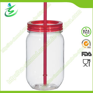 20 Oz Mason Jar with Plastic Straw and Cover (MJ-F1) pictures & photos