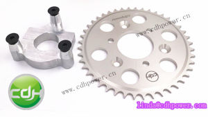 CNC Engine Part Adapter and Sprocket for Motorized Bicycle Engine Kits pictures & photos