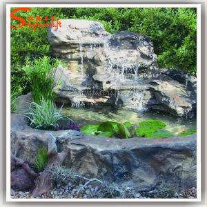 Garden Water Fountain Rock Waterfalls Artificial Fountain Rockery pictures & photos