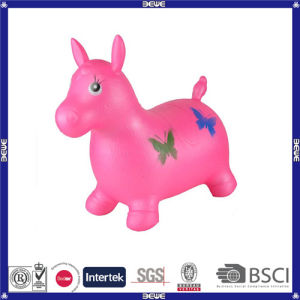 PVC Material Inflatable Toy Horse Inflatable Animal Hopper pictures & photos