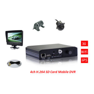 Wholesale H 264 Car DVR with Mobile Phone Monitoring pictures & photos