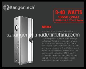Kanger First Box Mod 18650 Kanger Kbox Fit for Subtank, Subtank Mini and Subtank Nano pictures & photos
