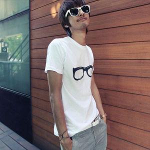 Printed Men′s T-Shirt (CM151)