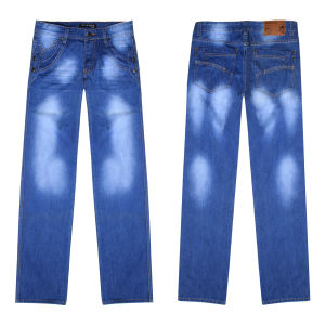 Men′s Leisure Fashion Loose Denim Jeans (CM101)