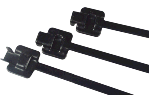 Black Epoxy Coated Releasable Stainless Steel Cable Tie pictures & photos
