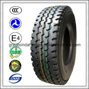 Dr908 Double Happiness Radial Truck Tire (11R22.5, 12R22.5, 13R22.5) pictures & photos