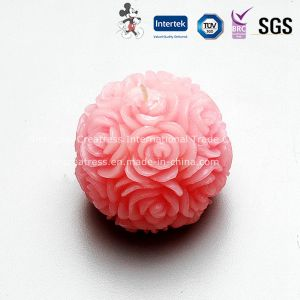 Beautiful Roseball Candle for Wedding or Valentine pictures & photos