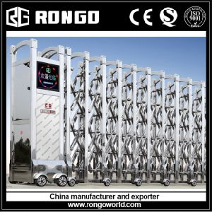 #201 or # 304 Stainless Steel Electrical Foldable Gates