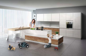 Hot-Selling Melamine Carcass Kitchen Cabinet with Good Price (zg-021) pictures & photos