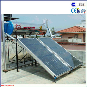 High Selling Compact Flat Plate Solar Heater for Home/School/Hotel pictures & photos