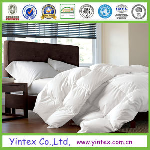 Luxury White 100% Down Proof Cotton Cover Wholesale Hotel Duck Down Duvet pictures & photos