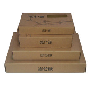Home Textile Corrugated Gift Box (XG-CB-013)