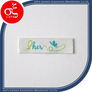 Cheap Price Beautiful Woven Label/Brand Logo Clothing Labels pictures & photos