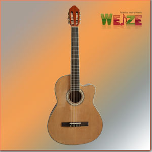 39inch Spruce Sapele Plywood Classic Guitar pictures & photos