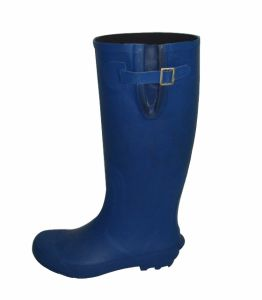 Women′s Blue Rain Boots pictures & photos