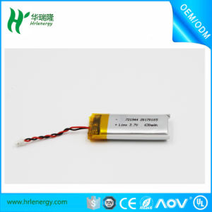 Samll Lipo Battery 721944 3.7V 630mAh for Bluetooth pictures & photos