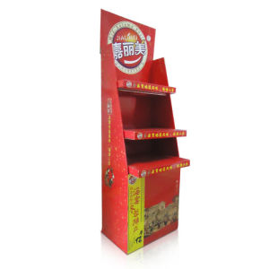 Cardboard Counter Display with Cmyk Printing, Paper Display Stand, Pop Displays, Advertising Display pictures & photos