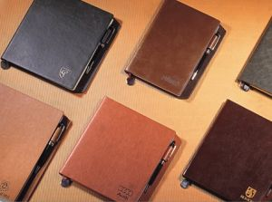 professional Manufacture Gift Delicate PU Promotional Notebook pictures & photos